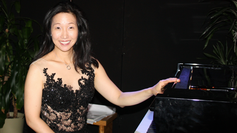 La pianiste Lucille Chung