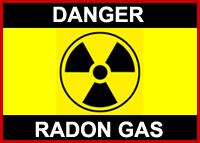 Danger-Radon-Gas