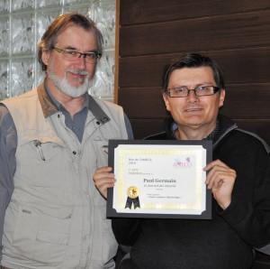Paul Germain de Prévost a obtenu un 2e prix dans la catégorie Opinion pour l'article Faire renaître Shawbridge paru en juillet 2015.