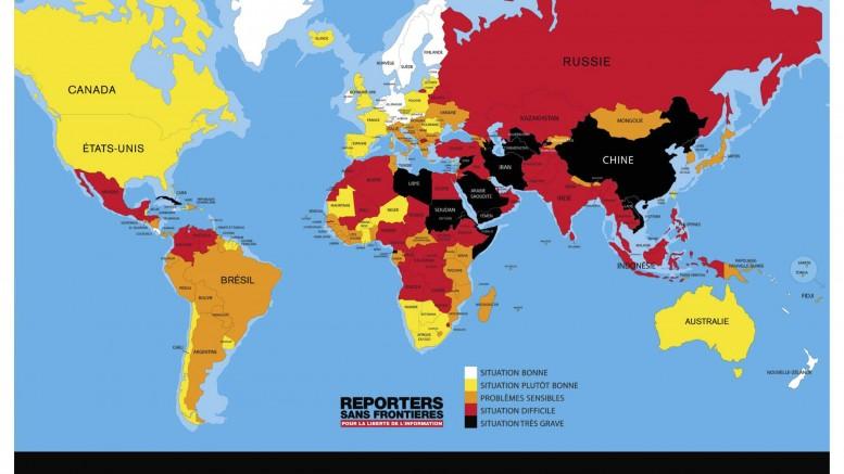 Classement mondial de la liberté de presse