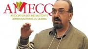 Yvan Noé Girouard, directeur général de l'Association des médias écrits communautaires du Québec.