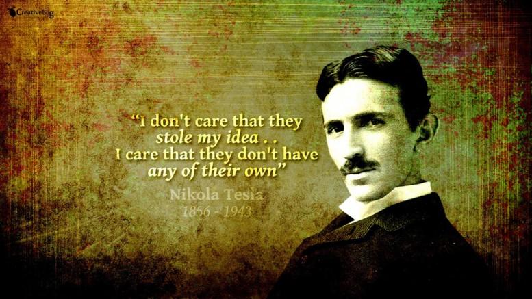« I don't care that they stole my idea… I care that they don't have any of their own » « Je ne me soucie pas qu'on me vole mes idées… Je m'inquiète qu'ils n'en ait pas eux même »