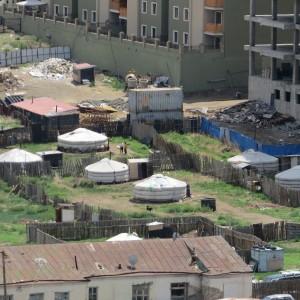 Yourte en milieu urbain