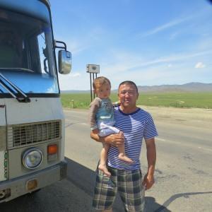 Le bébé de l'autobus