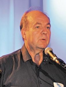 M. Alain Saladzius de la Fondation Rivières