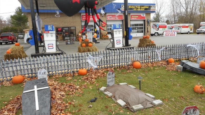 L'Halloween au garage Lanthier – Non! Ce ne sont pas d'anciens clients du garage Lanthier!