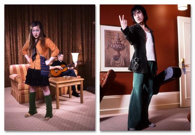 Photo: courtoisie;  Adad Hannah, Room 112, 2004,vidéodeux canaux, 14 minutes 10 secondes, épreuves numériques no.1 à no.6, tirage 1/7