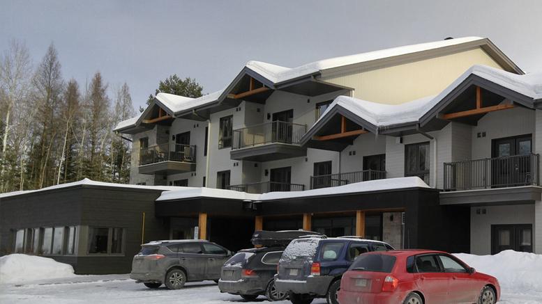 Les trente logements de l'établissement Sous le toit de l'Échelon situé à Sainte-Adèle. - Photo Valérie Lépine
