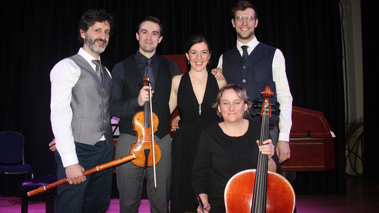 Crédit : Serge Pilon;  Grégoire Jeay, Dominic Guilbault, Andréanne Brisson Paquin, Amanda Keesmaat et Christophe Gautier.