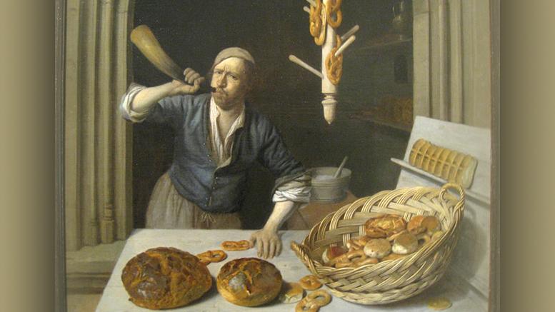 Boulanger du Moyen-Âge