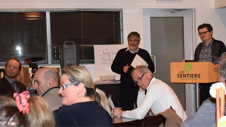 Crédit: Michel Fortier; L'assemblée générale du Renouveau prévostois, le 29 janvier dernier a permis d'élire trois nouveaux administrateurs.