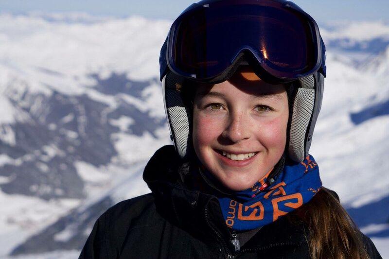 Arianne Forget a remporté l'or dans trois compétitions de ski alpin et l'argent en Slalom
