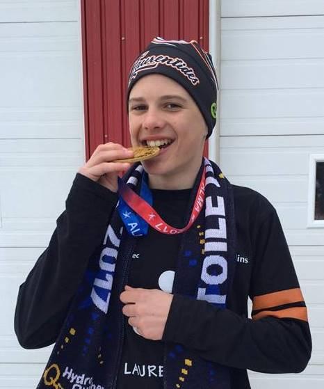 Thomas Allard-Vertriest s'est illustré avec deux médailles d'or en ski de fond