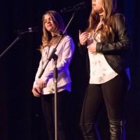 Choix du public : Allyssa Huet et Britany Brisebois (chant) Dans la catégorie 13 à 17 ans
