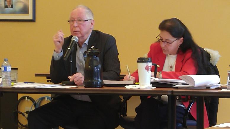 Germain Richer, président du TAC et Louise Bourgeois, directrice générale Photo : Valérie Lépine