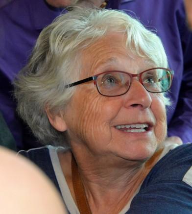 Le sourire et l'émerveillement de Florence Frigon