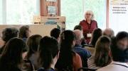 Plus de 65 participants réunis à la station de biologie des Laurentides pour assister aux présentations. Photo courtoisie
