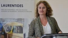 Sylvie Bolduc, présidente de SEL et DG de la SADC des Laurentides. Photo: Michel Fortier