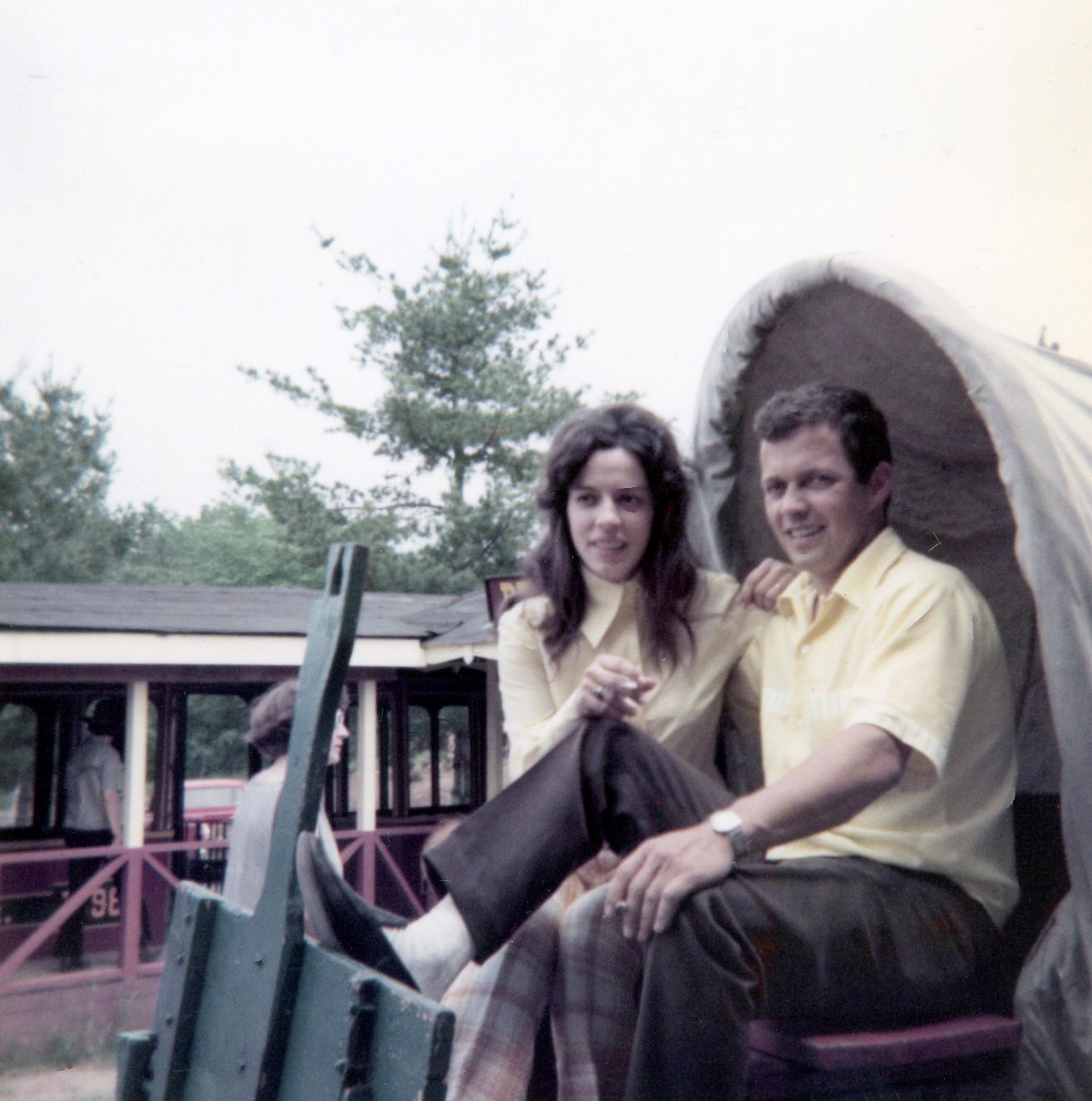Diane Saint-Louis et Roland Gariépy vers la fin des années 60.