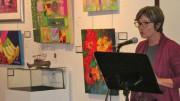 La présidente du comité d'honneur Sylvie Talbot, directrice des communications chez Hybride Photo : Louise Guertin