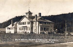Cottage en 1908