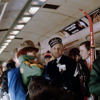 À bord du train, 22 janvier 1978 – Photo : Diane Brault