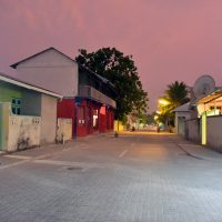 Village de Meedhoo, Raa atoll. – Photo Diane Brault