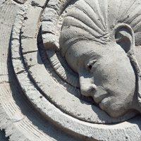 Un détail de la sculpture de Melineige Beauregard – Photo : Diane Brault