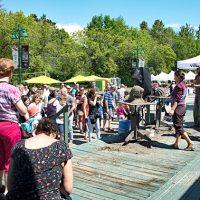 Compétition amicale de «quick sand» – Photo : Diane Brault – Photo : Diane Brault
