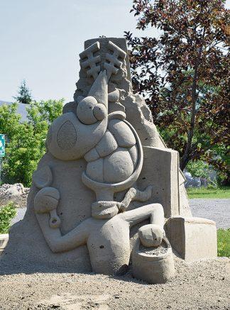 journal des citoyens agent sculpture